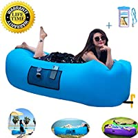 Fast Inflatable Lounger Air Sofa,Lazy Leisure Sleeping...
