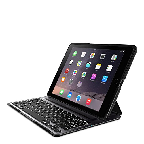 Belkin QODE Ultimate Pro Keyboard Case for iPad Air 2 (Black) by Belkin