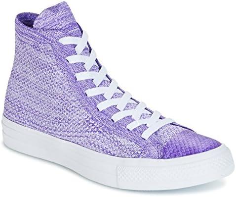 Converse Chuck Taylor All Star Nike Flyknit Flyknit Multi Hi Flyknit Mult Sneaker Herren Violett/Weiss Sneaker High Shoes