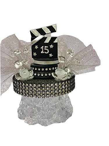 (Hollywood Movie Theme Directors Cut Sweet 15 Birthday Cake Topper Adorno De Cake De)
