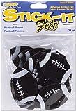 Stick It Felt Shapes, Footballs 24/Pkg