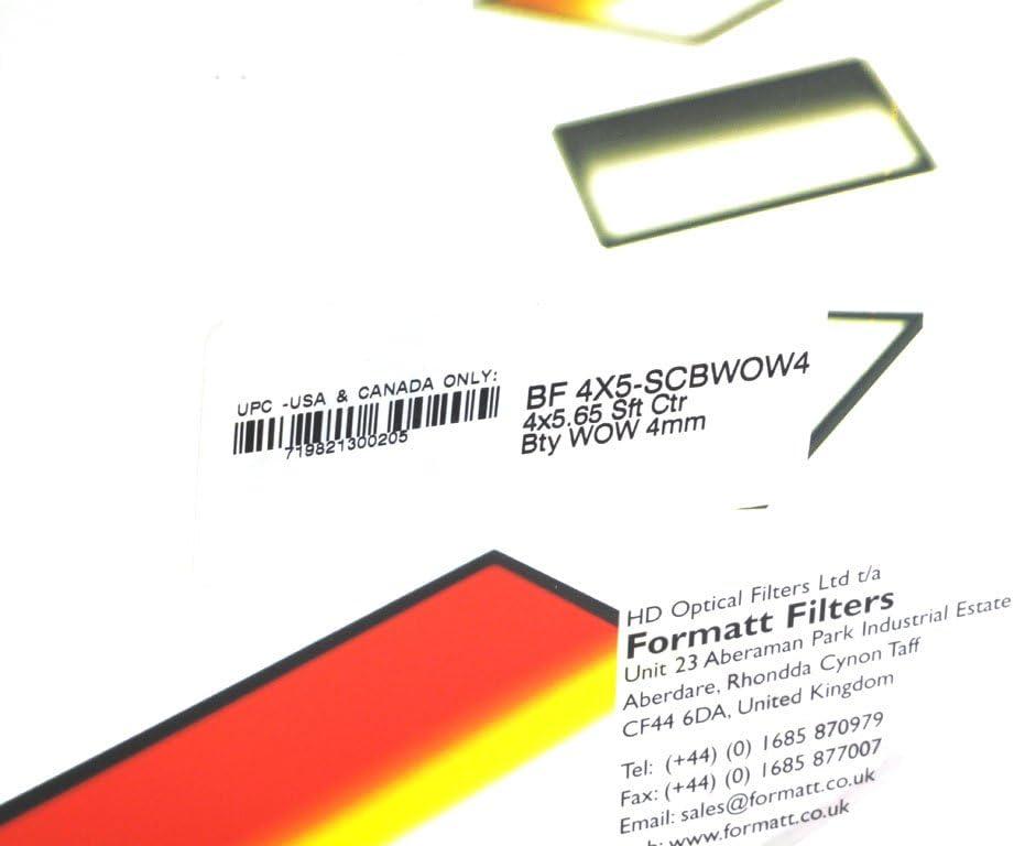 Formatt Hitech Soft Centre Beauty Wow Filter 4mm 4x5.65