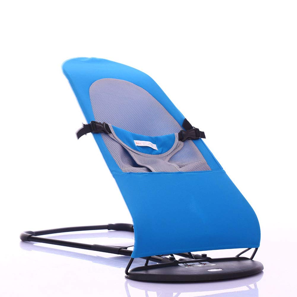 Baby Rocking Chair Baby Recliner Comfort Chair can be Balanced Folding Sleepy Artifact-Style6