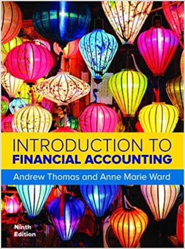 Introduction to Financial Accounting 9th Edition [Andrew Thomas]