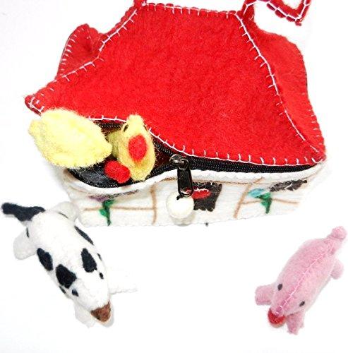 Felt Farm Play Bag