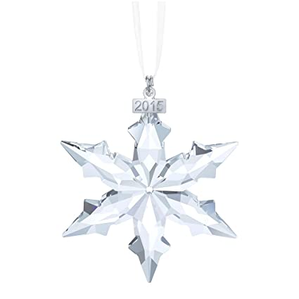 dfecedb43eb9 Amazon.com  Swarovski Little Star Ornament 2015  Home   Kitchen