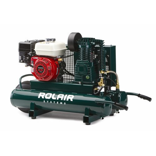 7.  <strong>ROLAIR 5.5 HorsePower Gas Air Compressor</strong>