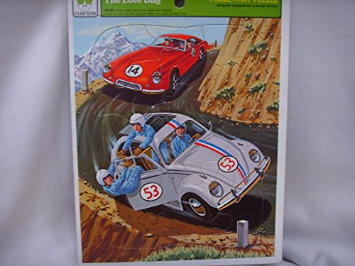 Whitman Vintage Frame Tray Puzzle Disney The Love Bug 4510H by Whitman Coins