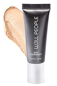 W3LL PEOPLE - Natural Bio Correct Multi-Action Concealer | Clean, Non-Toxic Makeup (Ivory)