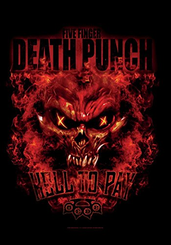 Five Finger Death Punch- Hell To Pay Fabric Poster