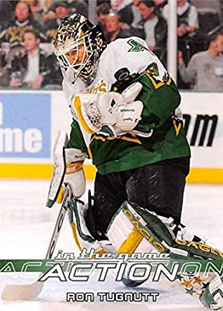 Amazon.com  2003-04 In The Game Action Hockey  129 Ron Tugnutt ... 03df1f371