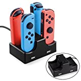 2win2buy Nintendo Switch Joy Con Charger Dock with LED indication 4 in 1 Compact Charging Station Stand Controller Holder with 2-Port USB Hub charge for phone controller Review
