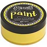 Ranger Dyan Reaveley's Dylusions Paint, 2 oz, Lemon Zest