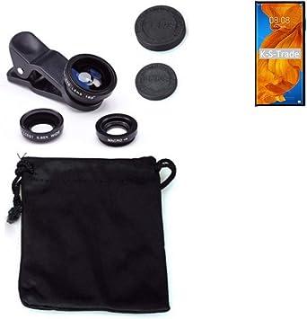 K-S-Trade® - Adaptador de cámara 3 en 1 para Huawei Mate XS Macro, Gran Angular, Ojo de pez, Lente para Smartphone: Amazon.es: Electrónica