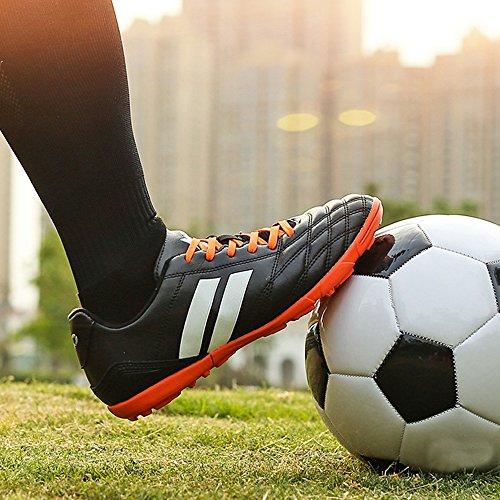 YING LAN Herren Jungen Turf Stollen Fußball Athletisch Fußball Outdoor / Indoor Sportschuhe TF 22005 Schwarz
