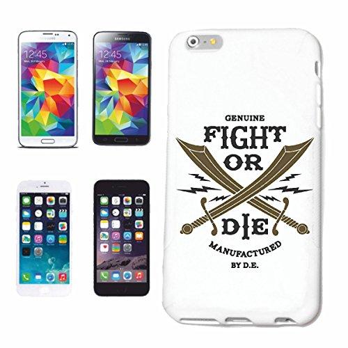 """cas de téléphone iPhone 7 """"FIGHT VÉRITABLE OU LA GANTS DE BOXE BOXING CLUB DE BOXE BOX ROCKY STALLONE SPARRING BOXER"""" Hard Case Cover Téléphone Covers Smart Cover pour Apple iPhone en blanc"""