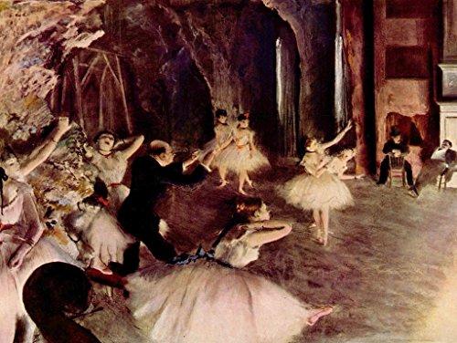 Lais Jigsaw Edgar Germain Hilaire Degas - Stage Rehearsal 2000 Pieces