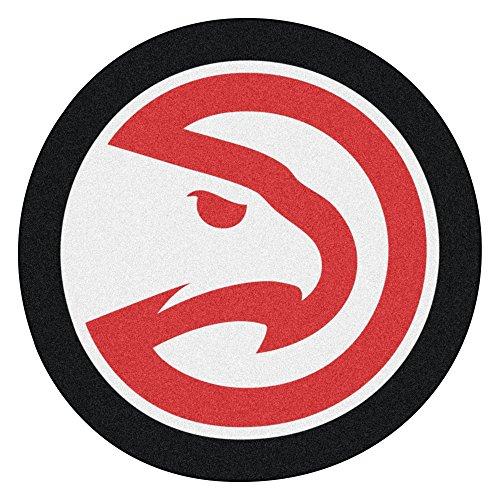 Fanmats 21331 NBA - Atlanta Hawks Mascot Mat, Team Color, 3' x 4' by Fanmats