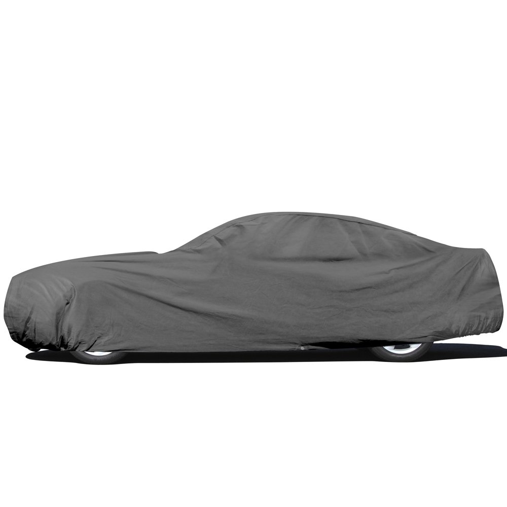 OxGord Car Cover - Basic Out-Door 4 Layers - Tough Stuff - Ready-Fit/Semi Glove Fit - Fits up to 144 Inches