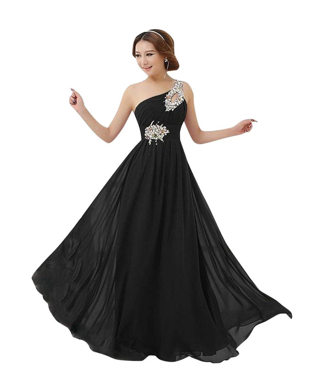 MissFox Damen Mixi Abendkleid mit Pailletten besetzt