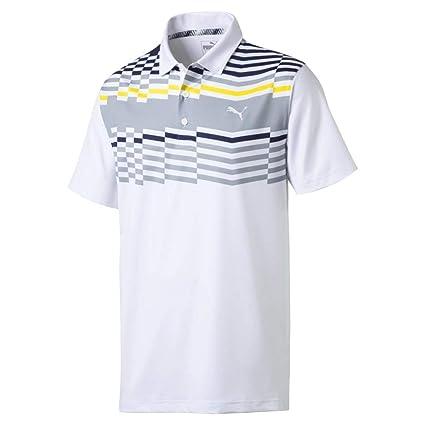 Amazon.com   Puma Golf Men s 2019 Road Map Polo   Sports   Outdoors f748b47e0