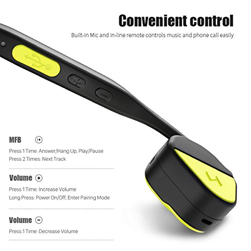 Features of Borofone Wireless Bone Conduction In-Ear Headphone