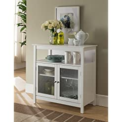 Home Bar Cabinetry Kings Brand Furniture White Finish Wood Kitchen Storage Buffet Cabinet With Glass Doors home bar cabinetry