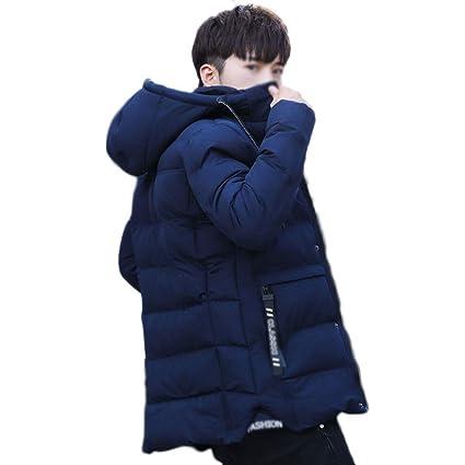 Abrigo de algodón para Hombre Invierno más Terciopelo Grueso Versión Coreana de la Marca Tide Sección