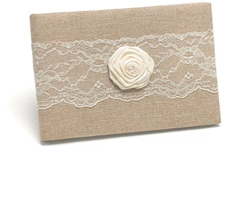 Rustic Country Guest Book *** Product Description: Rustic Country Guest Book Natural Burlap 6.5