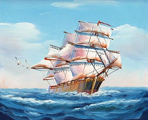 Diy Oil Painting Paint by Number Kits For Adults Wall Art For Living Room-SHIP 16x20inch