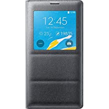 Samsung Galaxy Note 4 S-View Flip Cover, Charcoal Black