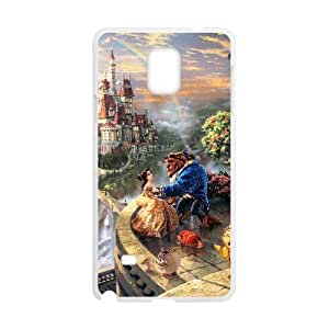 Samsung Galaxy S4 Phone Case White Beauty and the Beast ESTY7908662