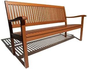 Strathwood Basics All-Weather Hardwood 3-Seater Bench