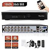 Westshine 16CH 1080P Lite AHD/TVI/CVI/Analog/IP Hybrid DVR, H.264 HD 1920x1080P CCTV Surveillance Digital Video Recorder, Support Onvif Motion Detection, Email Alert(NO HDD)