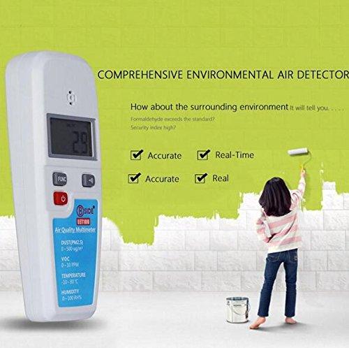 Superior BSIDE EET100 LCD Air Quality Multimeter Dust VOC Temperature Humidity Meter