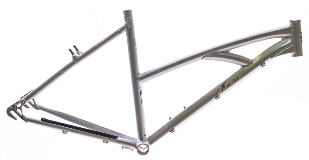 17'' Marin Bridgeway 700c Aluminum Comfort / Hybrid Bike Frame Brown Sand NEW