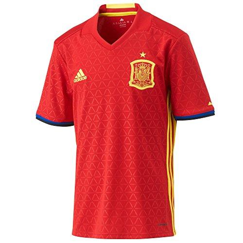 adidas Jungen Fußball/Heim-trikot UEFA Euro 2016 Spanien Replica, Scarle/Byello, 164, AA0850