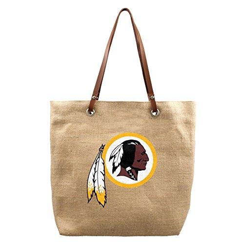 NFL Washington Redskins Burlap Market Tote - Washington Market