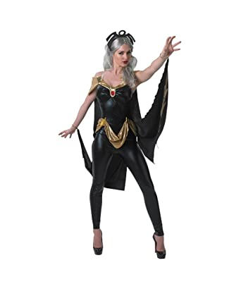 marvel xmen sexy storm catsuit womens halloween cosplay costume - Amazon Halloween Costumes Men