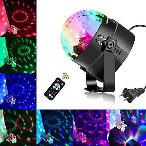 Glückluz Luces LED Decorativas Luces para Fiesta Luces DJ LED Iluminación de Ambiente de Interior Apliques de Exterior...