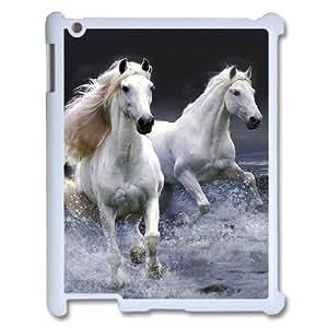 Horse ZLB534885 Customized Phone Case for Ipad 2,3,4, Ipad 2,3,4 Case