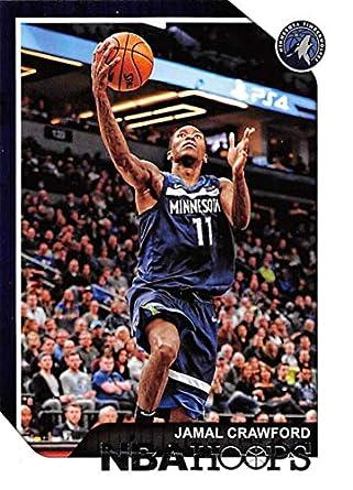 bd1696a693a 2018-19 Panini Hoops  220 Jamal Crawford Minnesota Timberwolves NBA  Basketball Trading Card