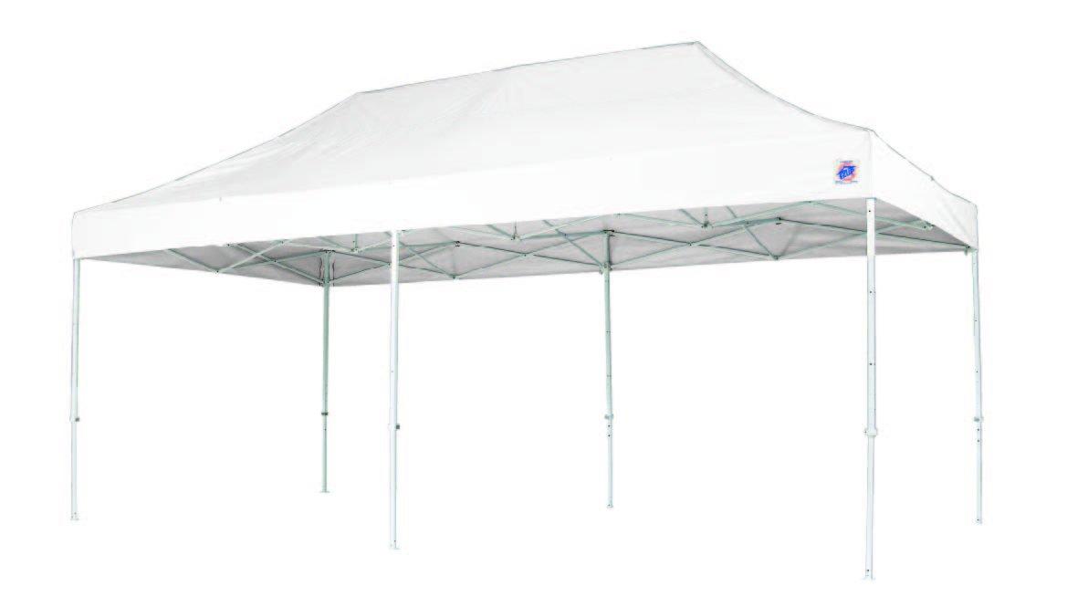 イージーアップテント デラックス(スチール)3.0m×3.0m DX30 B00ADYTEDM 250×250cm|ホワイト ホワイト 250×250cm