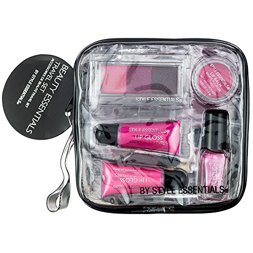 Style Essentials Beauty Travel Set, 6 Count