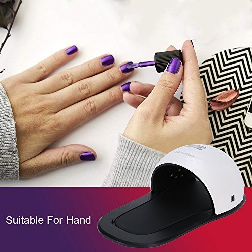 Beautlinks 48W UV LED Nail Lamp with 3 Timer Setting,30s/60s/99s, Senor for Gel Nails and Toe Nails Curing, Detachable Magnetic Base for Nail Art at Home and Salon …