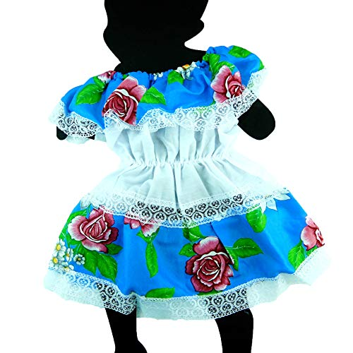 Mexican Infant Dress Size 1 Dress Day of The Dead Coco Theme Party Halloween Party ()