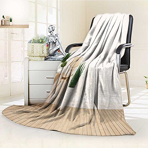Luxury Double-sides Reversible Fleece Blanket dining area and library area in living room or cafe d rendering Couch Blanket,Travelling and Camping Blanket(90''x 70'') by Jiahonghome