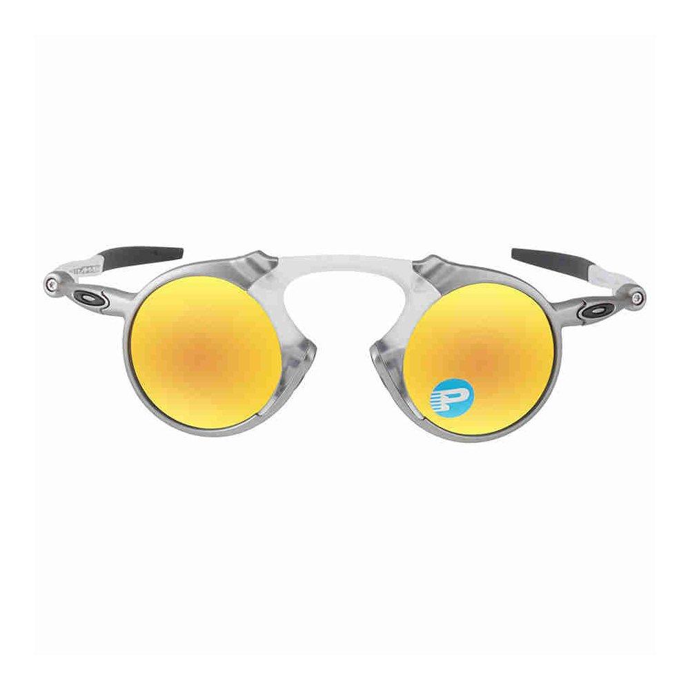 3b14390dcd8bd Oakley masculina Madman polarizada Irídio Redondo óculos de sol ...