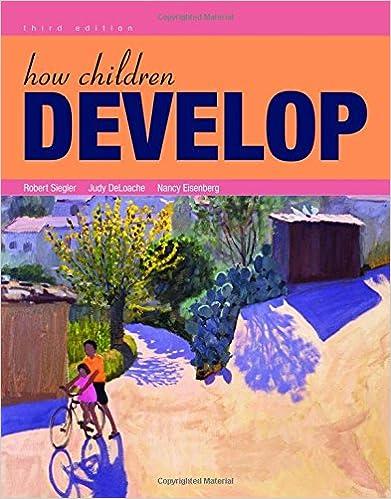 how children develop 3rd edition