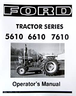 Ford shop manual series 5000 5600 5610 6600 6610 6700 6710 ford 5610 6610 7610 series tractor owners instruction operating manual users guide fandeluxe Images